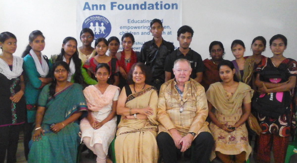 Founder of Ann Foundation visit our Office